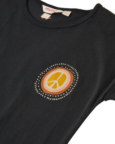 SOFT BLACK KIDS GIRLS MUNSTER KIDS DRESSES + PLAYSUITS - MM212DR03YSBLK