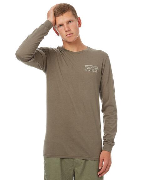 OLIVE MENS CLOTHING RHYTHM TEES - OCT17M-PT12-OLI