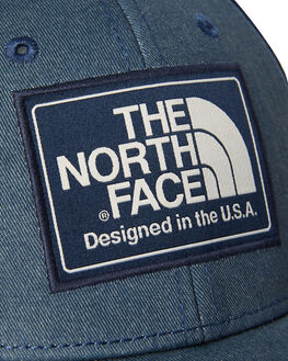 SHADY BLUE MENS ACCESSORIES THE NORTH FACE HEADWEAR - NF00CGW21UR