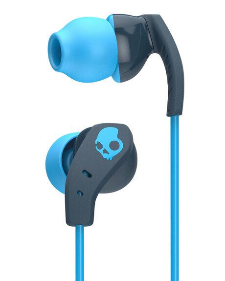 NAVY BLUE MENS ACCESSORIES SKULLCANDY AUDIO + CAMERAS - S2CDY-K477NVY