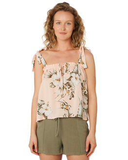 PEACH WOMENS CLOTHING RIP CURL FASHION TOPS - GSHCD90165