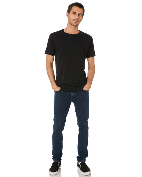 BLACK OCEAN MENS CLOTHING NUDIE JEANS CO JEANS - 113185BLKO