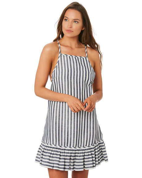 NAVY OUTLET WOMENS TIGERLILY DRESSES - T392445NAVY