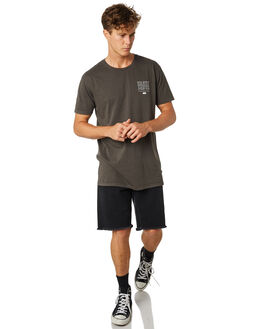 CHARCOAL MENS CLOTHING SILENT THEORY TEES - 4022113.CHARCHAR