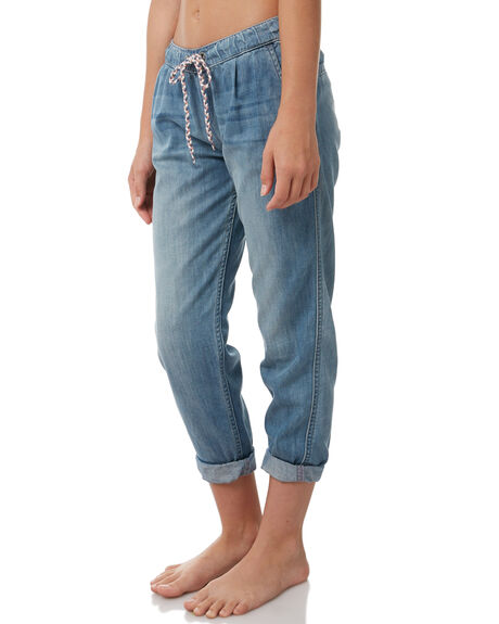 MEDIUM BLUE KIDS GIRLS ROXY PANTS - ERGDP03042BGY0