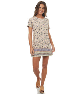 PINK BLUSH WOMENS CLOTHING BILLABONG DRESSES - 6572486PK1