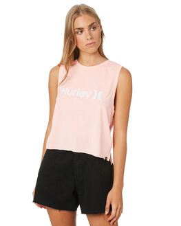 PINK TINT WOMENS CLOTHING HURLEY SINGLETS - CK0647631