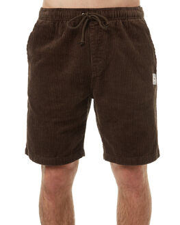 DARK CHOCOLATE MENS CLOTHING RUSTY SHORTS - WKM0875DCH