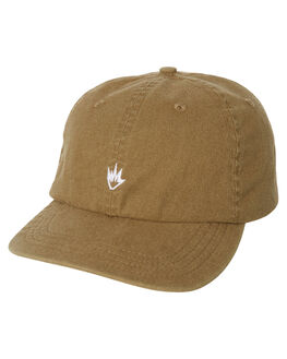 DUSTY OLIVE MENS ACCESSORIES AFENDS HEADWEAR - A184613DOLIV