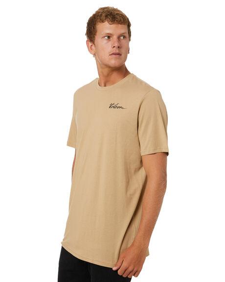GRAVEL MENS CLOTHING VOLCOM TEES - A5002007GRV