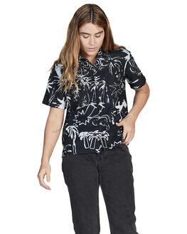BLACK JUNGLE FEVER WOMENS CLOTHING QUIKSILVER FASHION TOPS - EQWWT03019-KVJ9