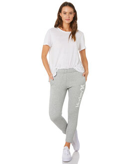 DARK GREY HEATHER WOMENS CLOTHING HURLEY PANTS - AJ3566063