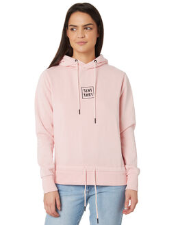 PINK WOMENS CLOTHING SILENT THEORY JUMPERS - 6022016PNK