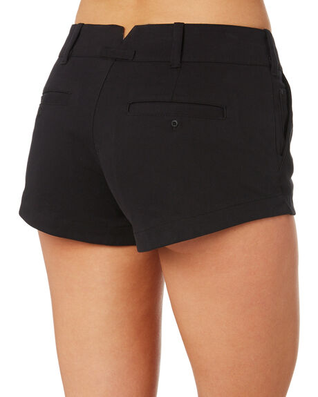 BLACK WOMENS CLOTHING HURLEY SHORTS - AV3006010