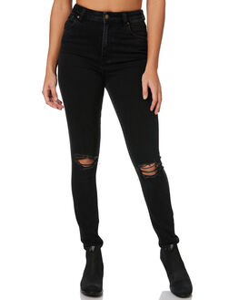 THUNDERSTRUCK WORN WOMENS CLOTHING ROLLAS JEANS - 12591B3841