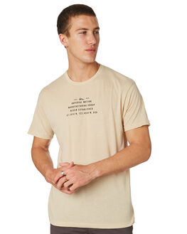 CREME MENS CLOTHING IMPERIAL MOTION TEES - 201803002037CREM