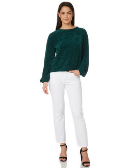 GREEN WOMENS CLOTHING MINKPINK KNITS + CARDIGANS - MP1801000GRN