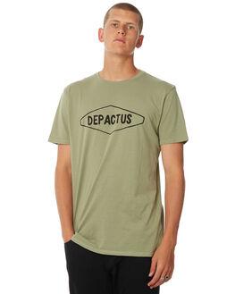 PISTACIO WASH OUTLET MENS DEPACTUS TEES - D5183000PISWS