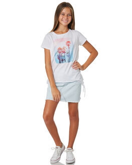 WHITE KIDS GIRLS EVES SISTER TOPS - 9520108WHT