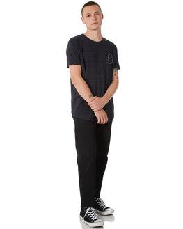 CHARCOAL MARLE MENS CLOTHING SILENT THEORY TEES - 4014008CHAR