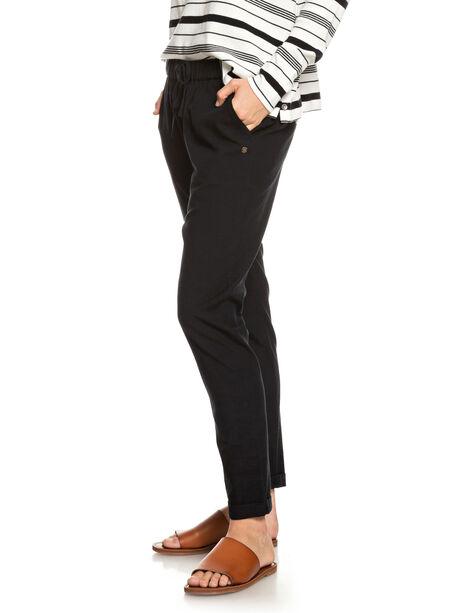 TRUE BLACK WOMENS CLOTHING ROXY PANTS - ERJNP03228-KVJ0
