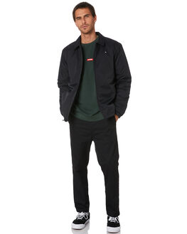 BLACK MENS CLOTHING HUFFER JACKETS - MJA01S4001BLK