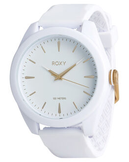 WHITE YELLOW GOLD WOMENS ACCESSORIES ROXY WATCHES - ERJWA03026XWYW