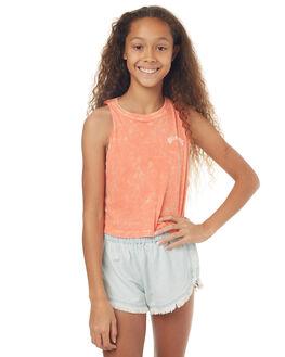 FUSION CORAL KIDS GIRLS BILLABONG SINGLETS - 5572183FSC