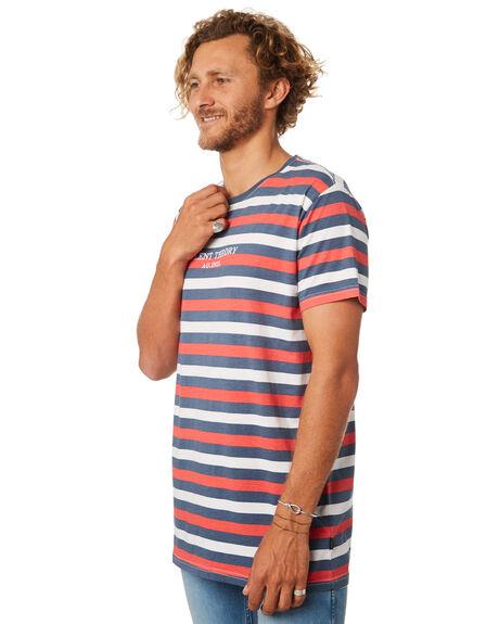NAVY MENS CLOTHING SILENT THEORY TEES - 4020020NAVY