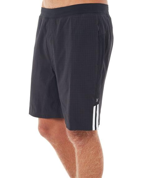 BLACK MENS CLOTHING HURLEY SHORTS - AA4671010