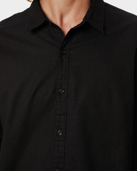 BLACK MENS CLOTHING SWELL SHIRTS - S5201170BLACK