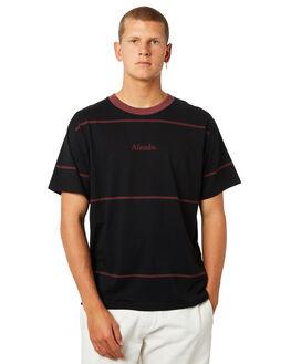 BLACK MENS CLOTHING AFENDS TEES - M184102BLK