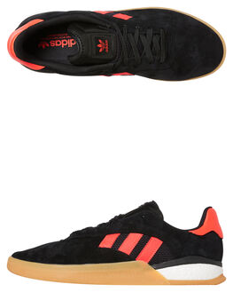 CORE BLACK SOLAR RED MENS FOOTWEAR ADIDAS SNEAKERS - EF8460CBLK