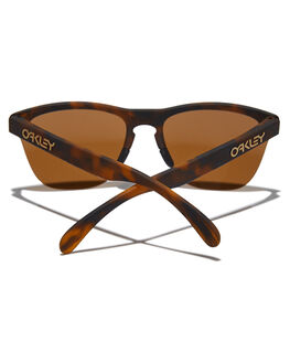 MATTE BROWN TORT MENS ACCESSORIES OAKLEY SUNGLASSES - 0OO9374-1163