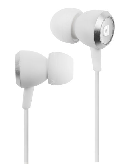 WHITE MENS ACCESSORIES AUDIOFLY AUDIO + CAMERAS - AF335-2-02WHI