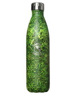 RAINFOREST GREEN MENS ACCESSORIES EARTH BOTTLES DRINKWARE - EB750FGRN