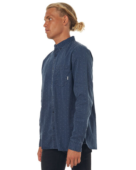 ECLIPSE NAVY MENS CLOTHING ELEMENT SHIRTS - 176211ENVY