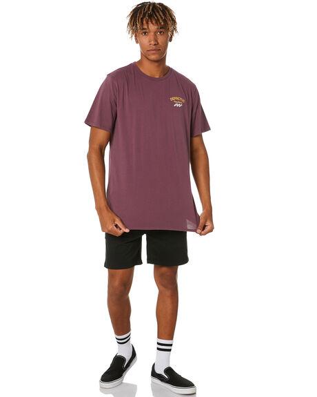 PLUM MENS CLOTHING DEPACTUS TEES - D5202001PLUM