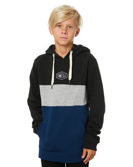 BLACK KIDS BOYS SWELL JUMPERS + JACKETS - S3203444BLACK