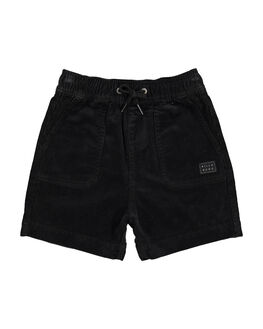 BLACK KIDS BOYS BILLABONG SHORTS - BB-7581732-BLK