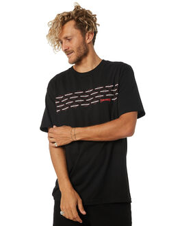 BLACK MENS CLOTHING INDEPENDENT TEES - IN-MTC4205BLK