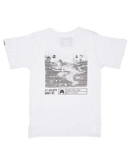 WHITE KIDS BOYS ST GOLIATH TOPS - 2832001WHT