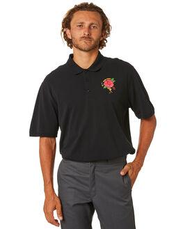 BLACK MENS CLOTHING PASS PORT SHIRTS - PPDESERTROSEBLK