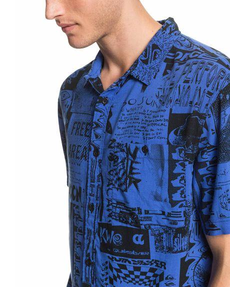 BLUE VORTEX MENS CLOTHING QUIKSILVER SHIRTS - EQYWT03955-PPM6