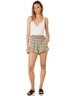 STRIPE WOMENS CLOTHING TIGERLILY SHORTS - T395303STR
