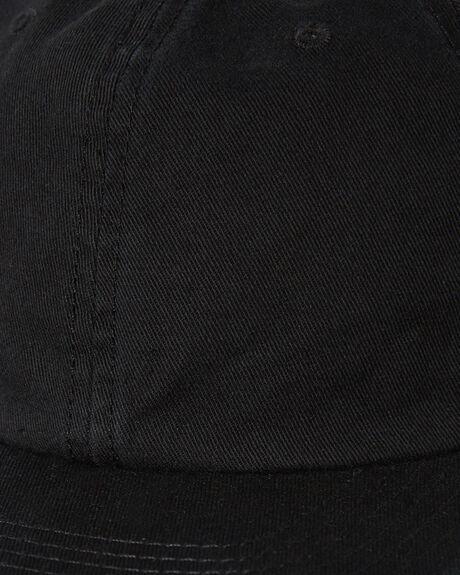 BLACK MENS ACCESSORIES AS COLOUR HEADWEAR - 1116BLK
