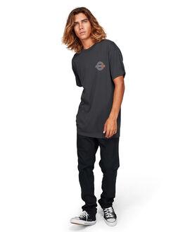WASHED BLACK MENS CLOTHING BILLABONG TEES - BB-9592004-WAA