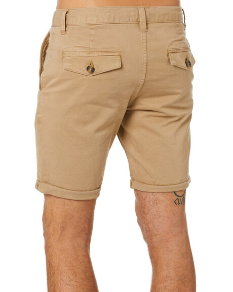 COFFEE MENS CLOTHING ACADEMY BRAND SHORTS - BA608COFF