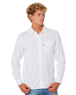 WHITE MENS CLOTHING LEVI'S SHIRTS - 85746-0000WHT