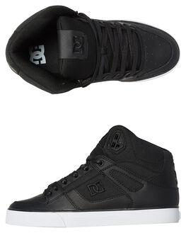 BLACK MARL MENS FOOTWEAR DC SHOES SNEAKERS - ADYS400046BMA